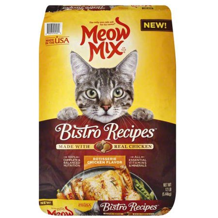 Meow mix bistro recipes rotisserie chicken dry cat food 12 lb meow mix bistro recipes rotisserie chicken dry cat food 12 lb forumfinder Gallery