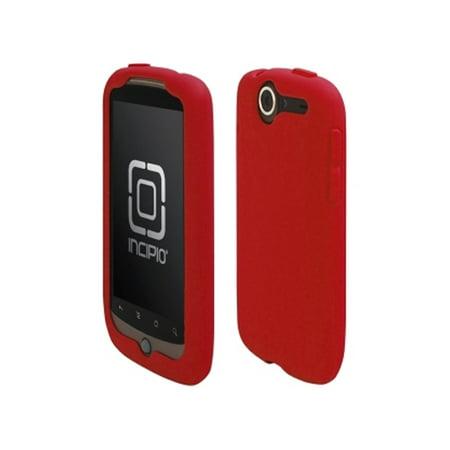 - 5 Pack -Incipio Technologies - Incipio dermaSHOT Silicone Case for HTC Google Nexus One - Deep Red