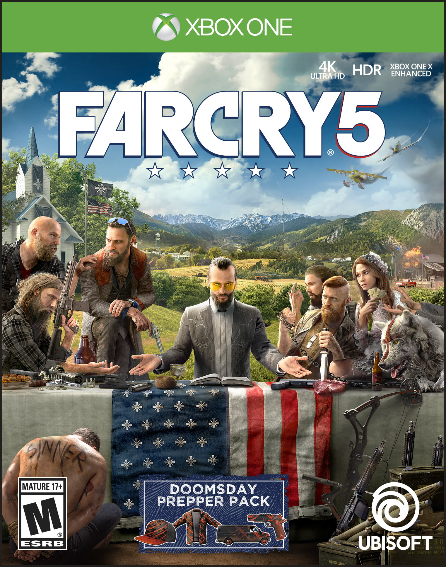 Far Cry 5 Day 1 Edition, Ubisoft, Xbox One, 887256028916 by Ubisoft