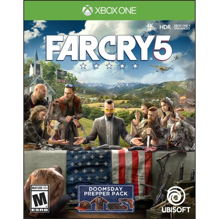 Far Cry 5 Day 1 Edition, Ubisoft, Xbox One,