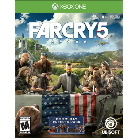 Far Cry 5 Day 1 Edition, Ubisoft, Xbox One, (Best Far Cry Game)