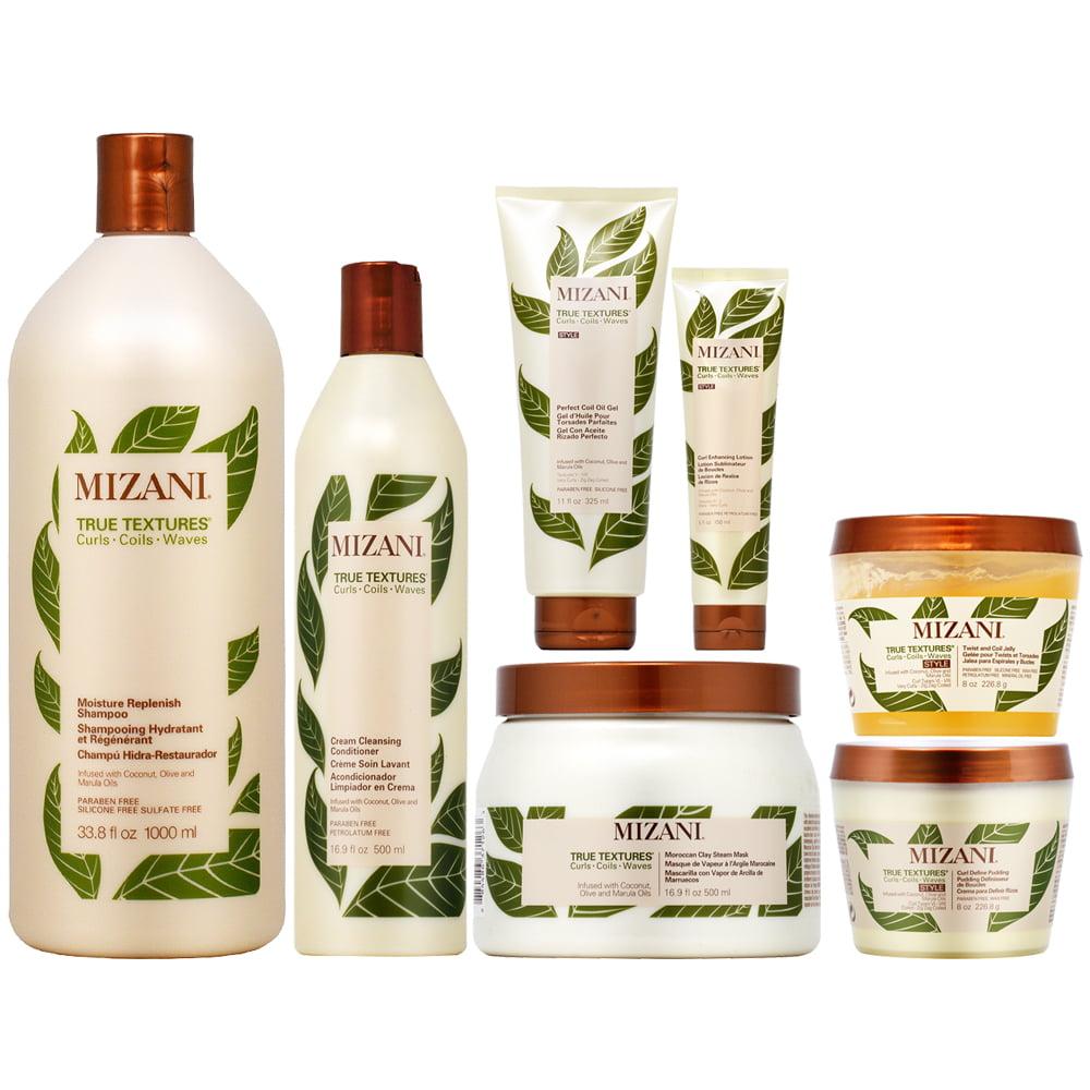 MIZANI - Mizani True Textures All In One - 7 Pieces Set (Shampoo 33.8 Oz + Conditioner 16.9 Oz ...