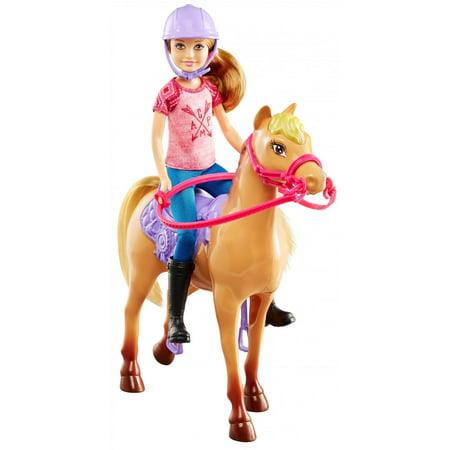 Barbie camping fun stacie doll horse - Barbie au cheval ...