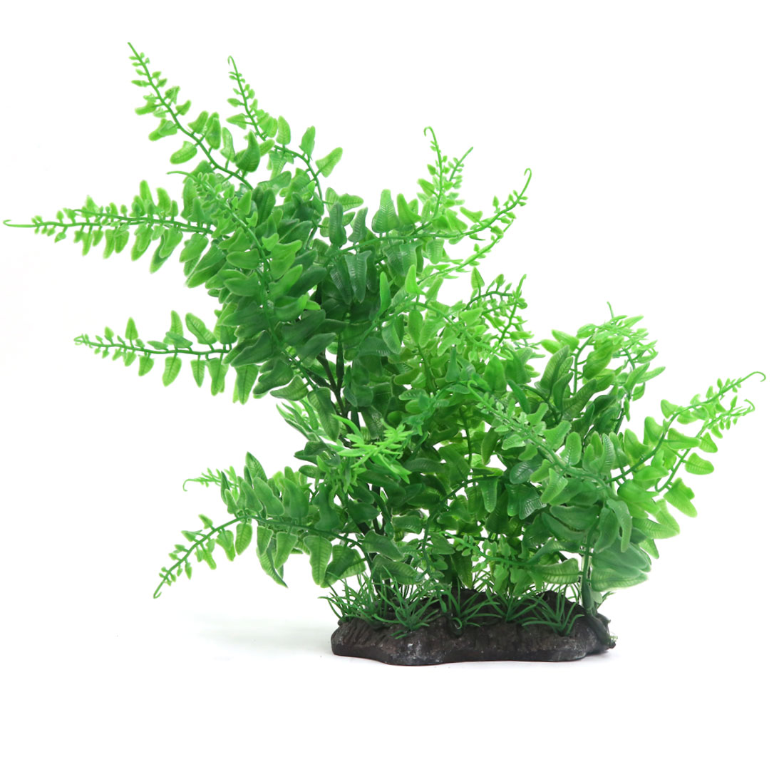 Green Aquarium Plastic Plant Fish Tank Decoration Aqua Landscape