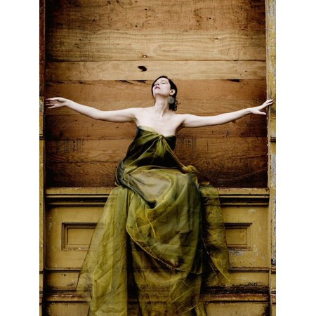 Valdez Arm - Woman with Arms Outstretched Print Wall Art By Elisa Lazo De Valdez