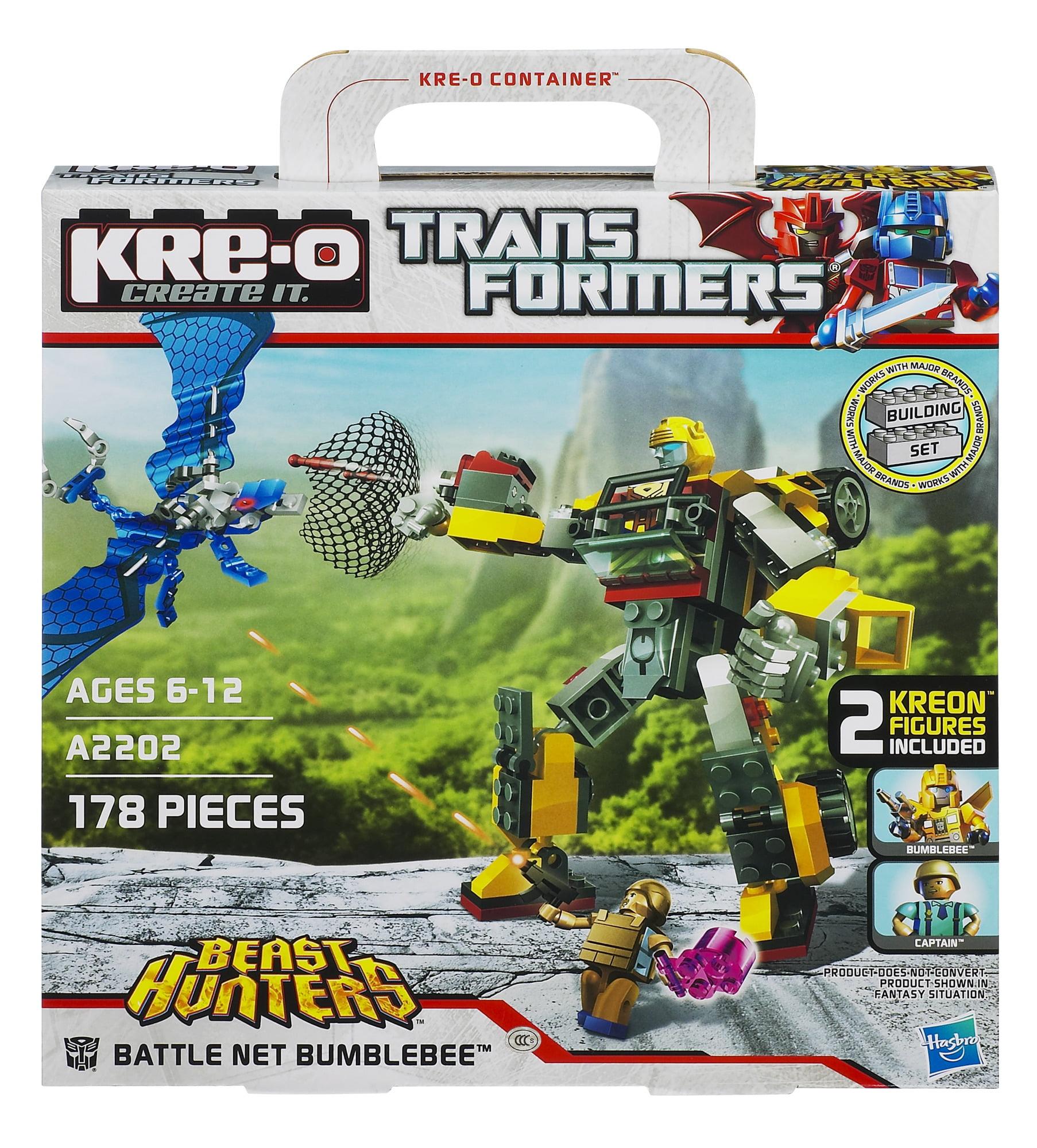 Kre O Transformers Beast Hunters Battle Net Bumblebee Set Walmart