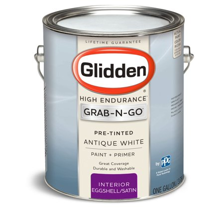Glidden Pre Mixed Ready To Use Interior Paint And Primer Antique White Eggshell