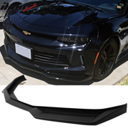 Compatible with 16-18 Chevy Camaro V6 2-Door ZL1 Style Front Bumper Lip PP