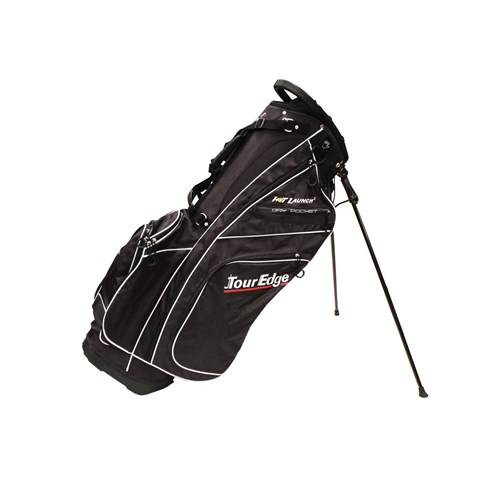 Tour Edge Hot Launch 2 Stand Bag, Black