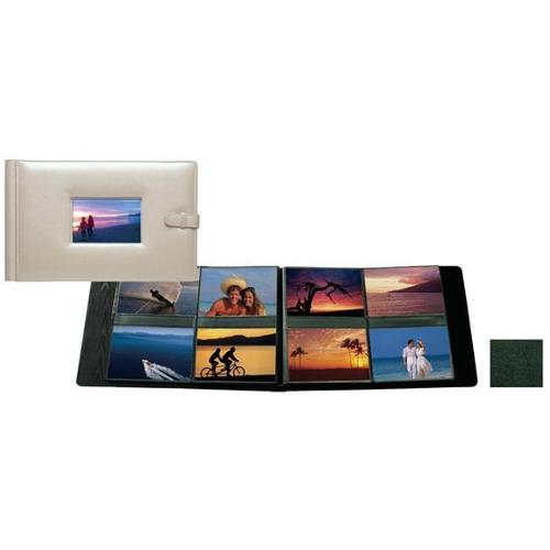 Raika RM 177 GREEN 4inch x 6inch Frame Album with 8 Photo - Green