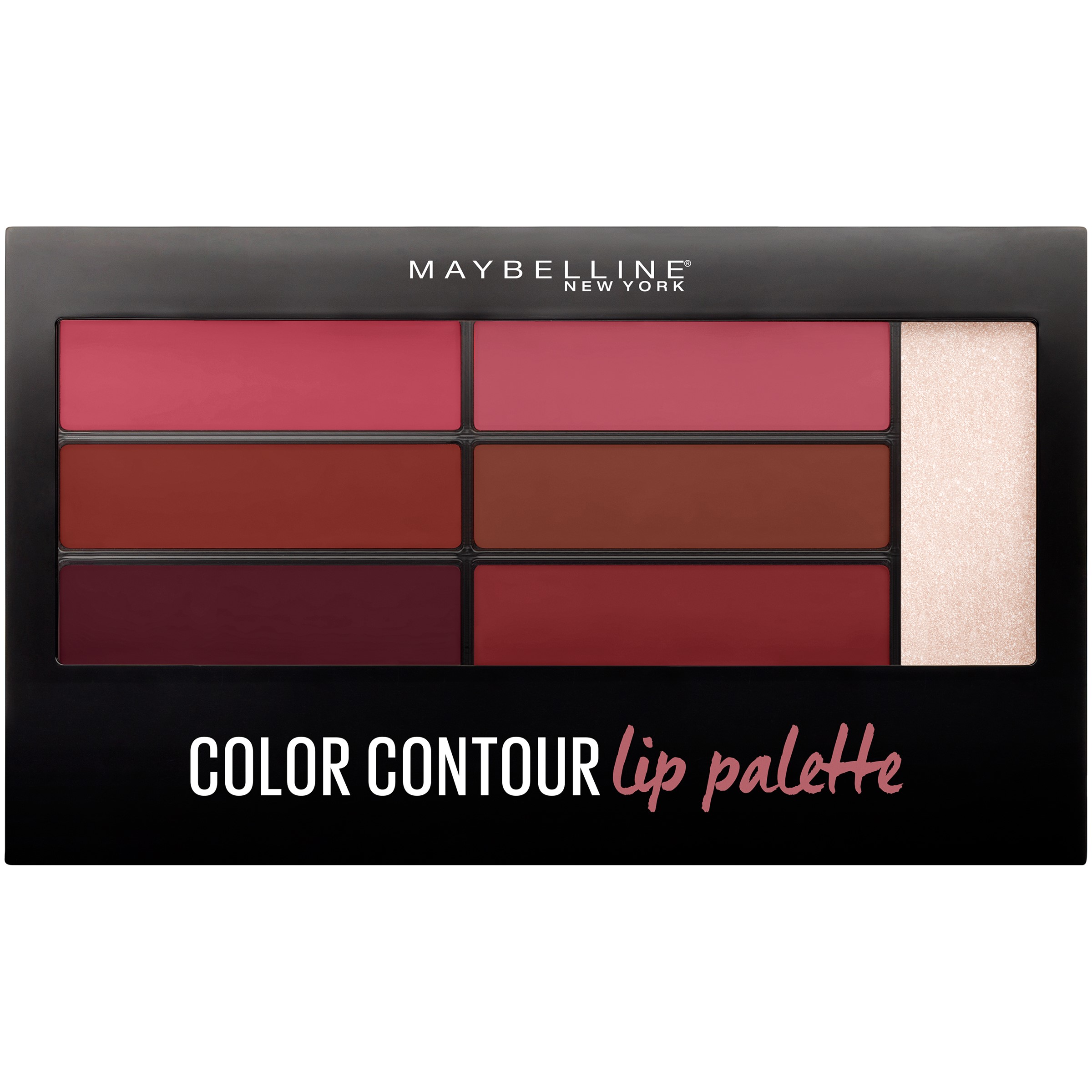 Maybelline New York Lip Studio Color Contour Lip Palette, Blushed Bombshell, 0.17 Oz