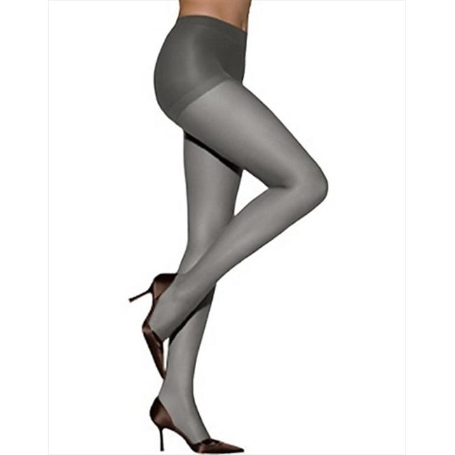 707 ABsolutely Ultra Sheer Control Top Sheer Toe Pantyhose, Size E Barely Black - image 1 of 1