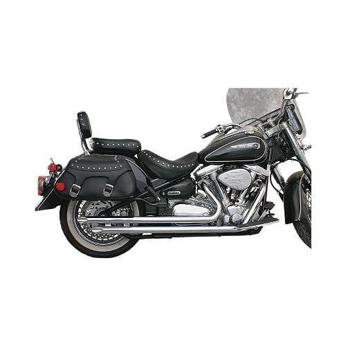 """Mac 2"""" Slash-Cut Drag Pipe Exhaust Fits 98-05 Yamaha XVS650 V-Star Custom"""
