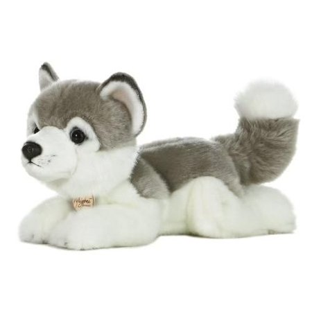 Husky 11 in. Miyoni  - Dog & Puppy Stuffed Animal by Aurora Plush (10834) (Stuffed Animal Puppies)