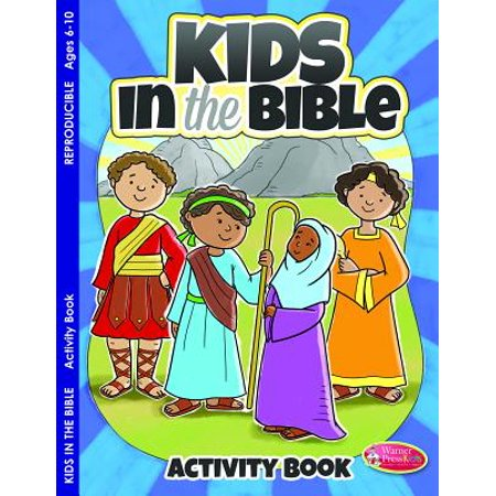 Kids in the Bible : Activity Book for Ages 6-10 (Pk of 6)