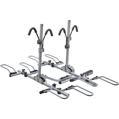 SportRack SR2902 Crest 4 Platform Hitch Bike Carrier, 4-Bikes, Granite Gray