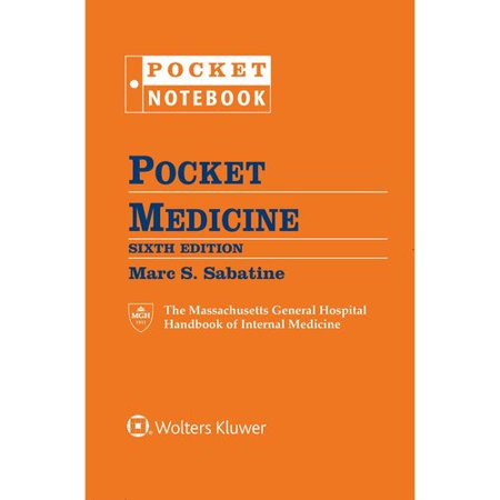 Pocket Medicine  The Massachusetts General Hospital Handbook Of Internal Medicine