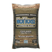 NoFloat Cypress Blend Mulch, Brown Mulch, 2 Cubic Foot