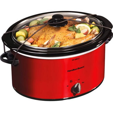 Hamilton Beach 5 Quart Portable Slow Cooker | Model# 33155