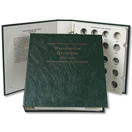 Littleton Coin Lca4 Washington Quarter Album 1932 1967  Case Of 12