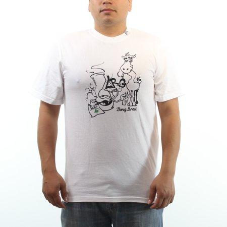 Lifted Research Group Bong Bros High Giraffe Lrg Mens White T Shirt
