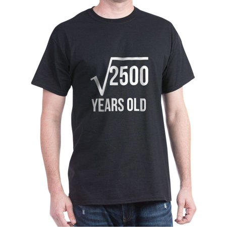 50 Years Old Square Root T-Shirt - 100% Cotton