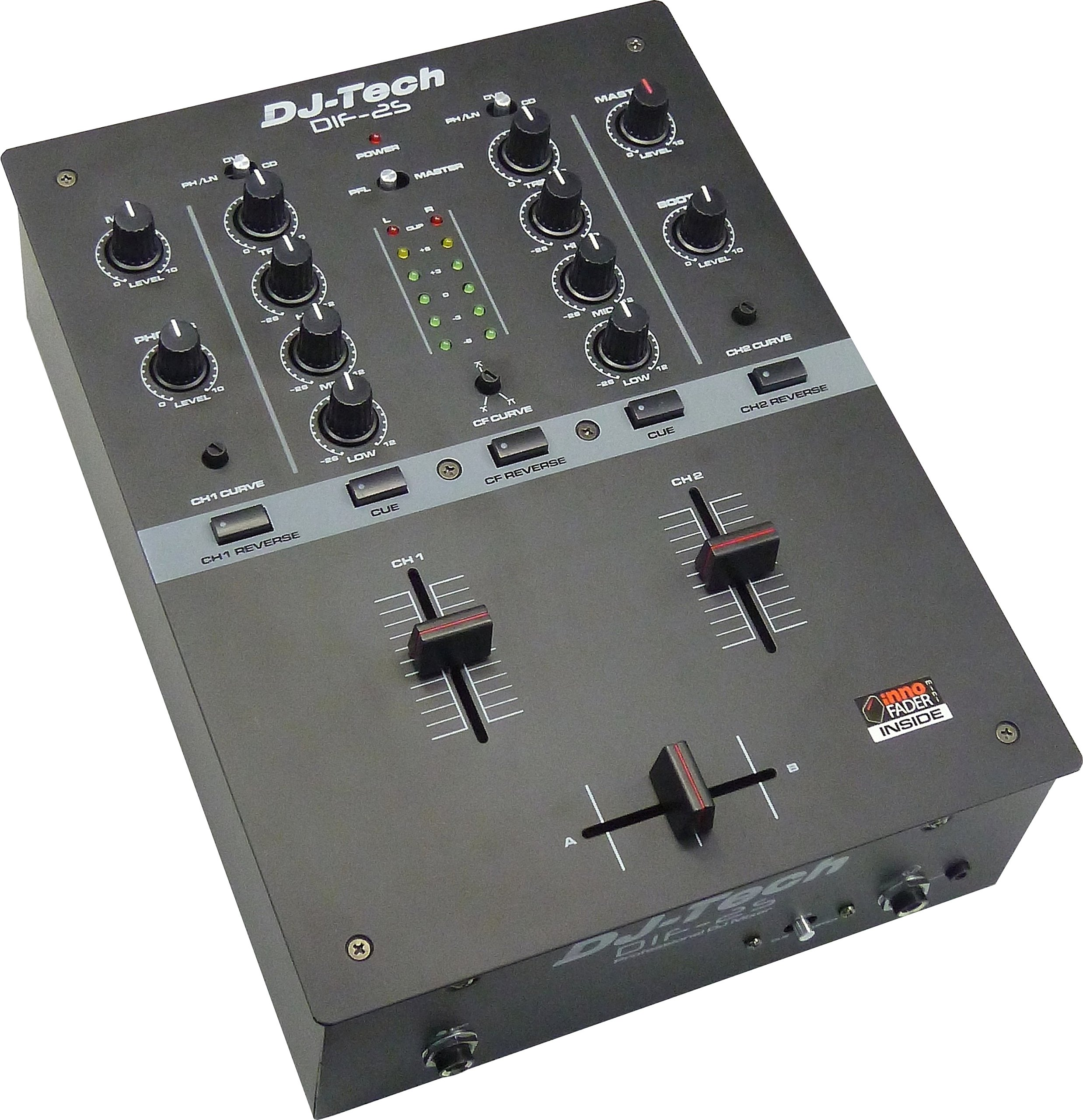 Dj Tech DIF2SBLACK Djtech New Mixer With Inno Fader