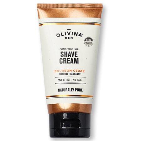 Olivina Conditioning Shave Cream Bourbon Cedar, 2.5 (Conditioning Shave Cream)
