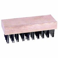 Chipping Hammer Refills, 4 5/8 in, 3 X 15 Rows, Steel Wire, Sold As 1 Each