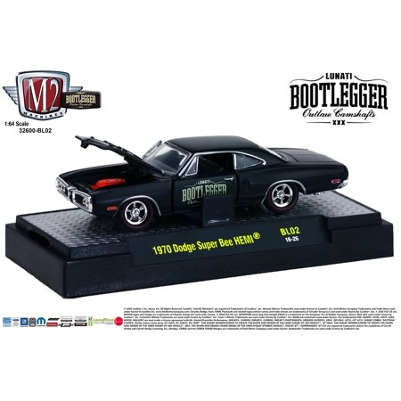 M2 Machines Bootlegger Release 2 1:64 1970 Dodge Super Bee HEMI