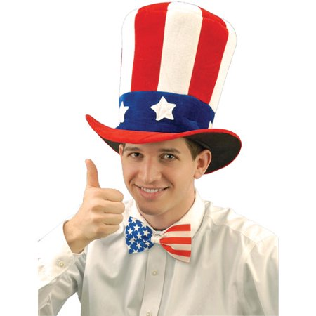 Uncle Sam Felt Hat Adult Halloween Accessory