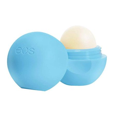 EOS Smooth Lip Balm Sphere, Blueberry Acai 0.25 oz (Pack of 3)