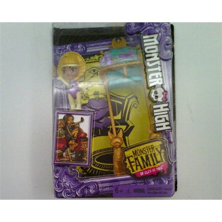 MONSTER HIGH MONSTER FAMILY OF CLEO DE NILE SANDY DE NILE COLLECTOR DOLL - Monster High Sale