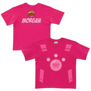 Personalized Wild Kratts Creature Power Suit Girls' Pink T-Shirt
