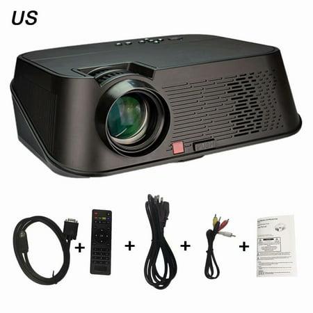 GP80 LED Projector 1080P 1800 Lumens 800   Deals2look