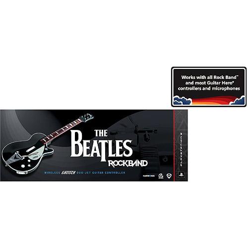 The Beatles Rock Band (PS3) - Wireless Gretsch Duo-Jet Guitar Controller