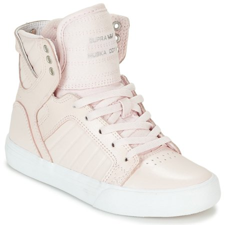 Supra Skytop Woman Shoes (SUPRA Skytop Kids | Mauve / Chalk White (58003-632-M) (5-Youth) )