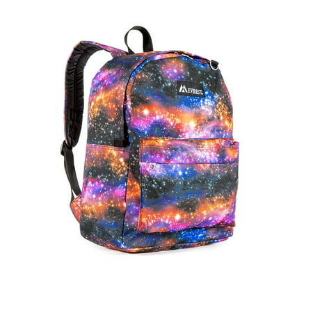 Everest Classic Pattern Backpack, Galaxy, One