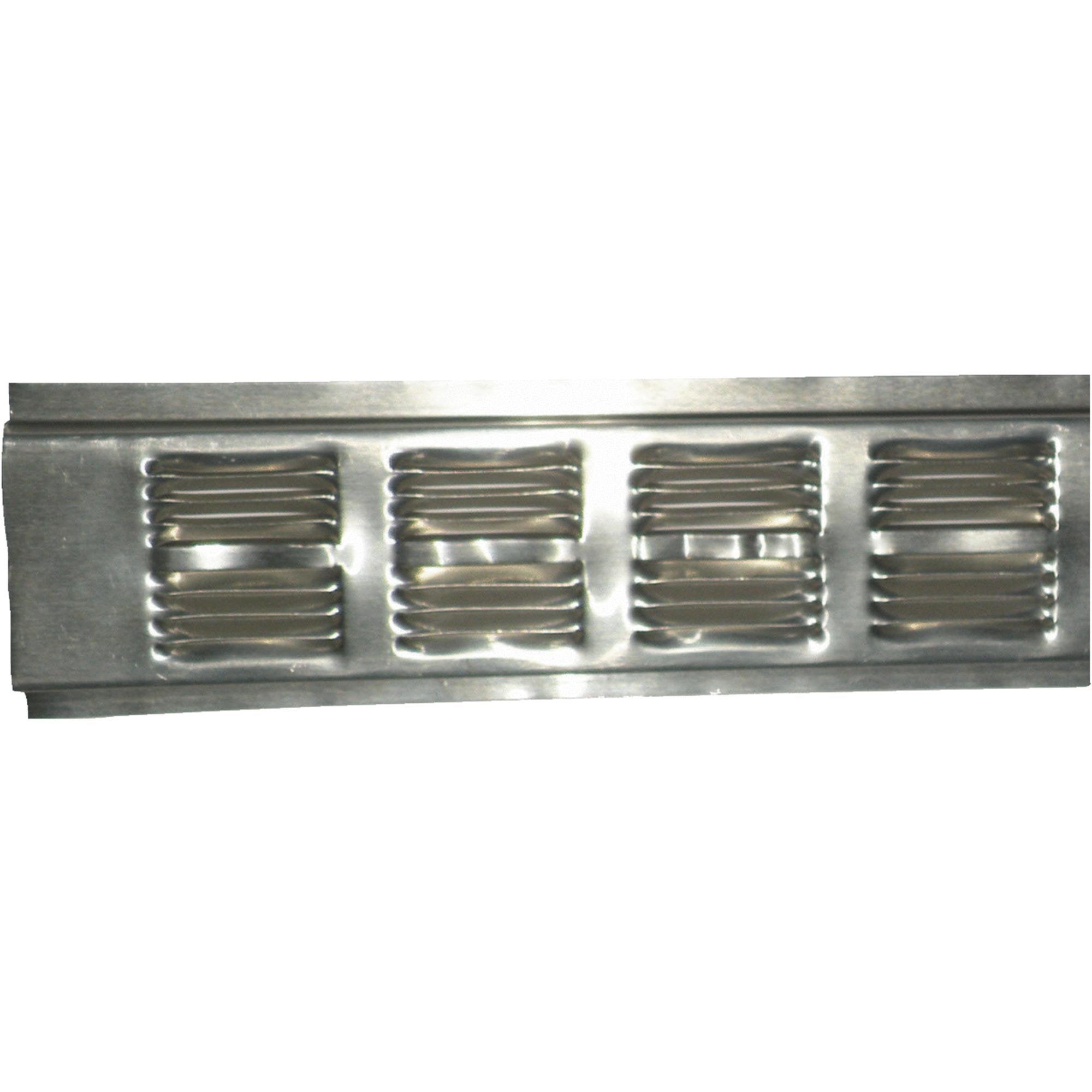 Image of Air Vent Continuous Aluminum Soffit and Under Eave Vent - Retrofit