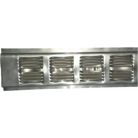 how to clean aluminum soffit vents