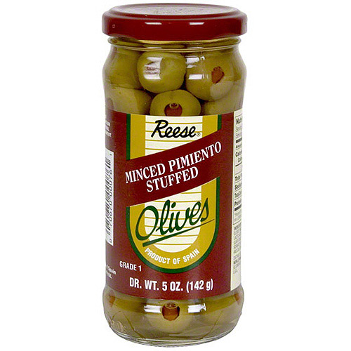 Reese Olives With Pimiento, 5 oz (Pack of 6)