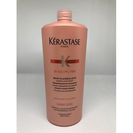 Kerastase Discipline Bain Fluidealiste No Sulfate Smooth-in-Motion Shampoo, 34 Ounce - image 3 of 3