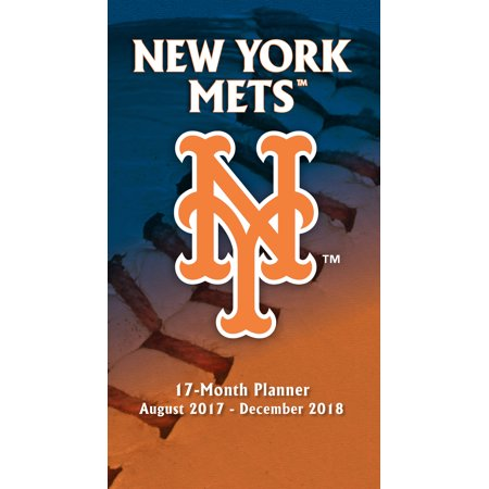 Turner Sports New York Mets 2017 18 17 Month Planner