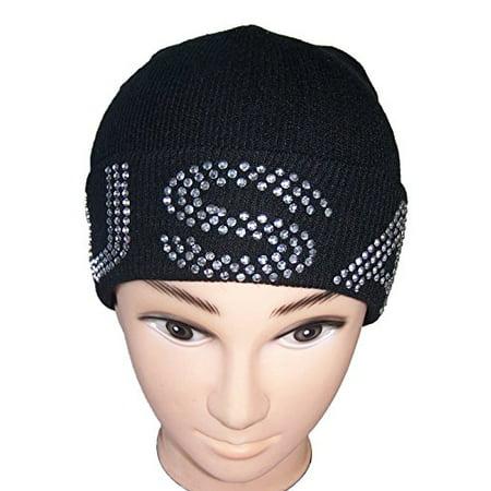 USA Rhinestones Beanies Winter Caps Winter Hats For Women & Teenagers - Gifts (WcaR2*) - Uta Caps