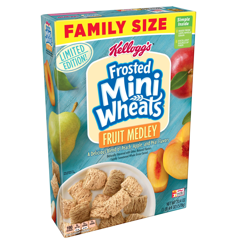 Kellogg's Frosted Mini-Wheats Fruit Medley Breakfast