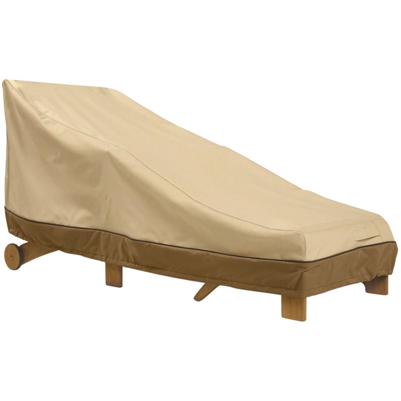 Classic Accessories Veranda Chaise Lounge Furniture Storage Cover