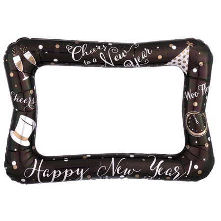 Anagram Cheers Happy New Year Selfie Frame Giant 23