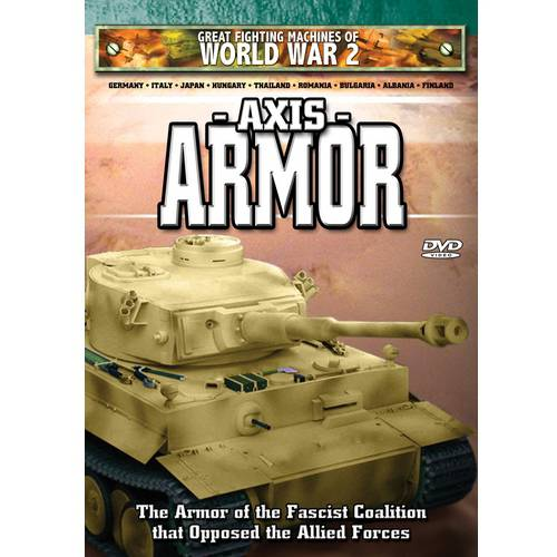 Image of Great Fighting Machines Of World War 2: Axis Armor (Full Frame)