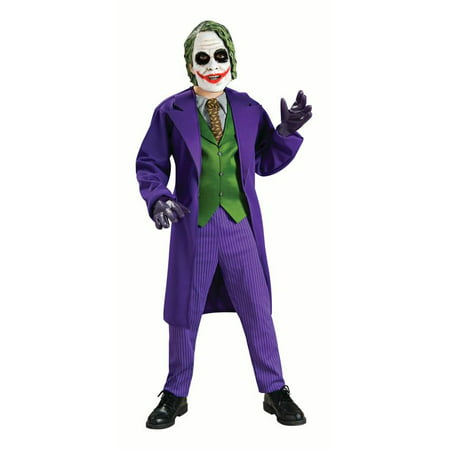 Rubies Deluxe Joker Boys Halloween Costume](Heath Ledger Joker Costume Halloween)