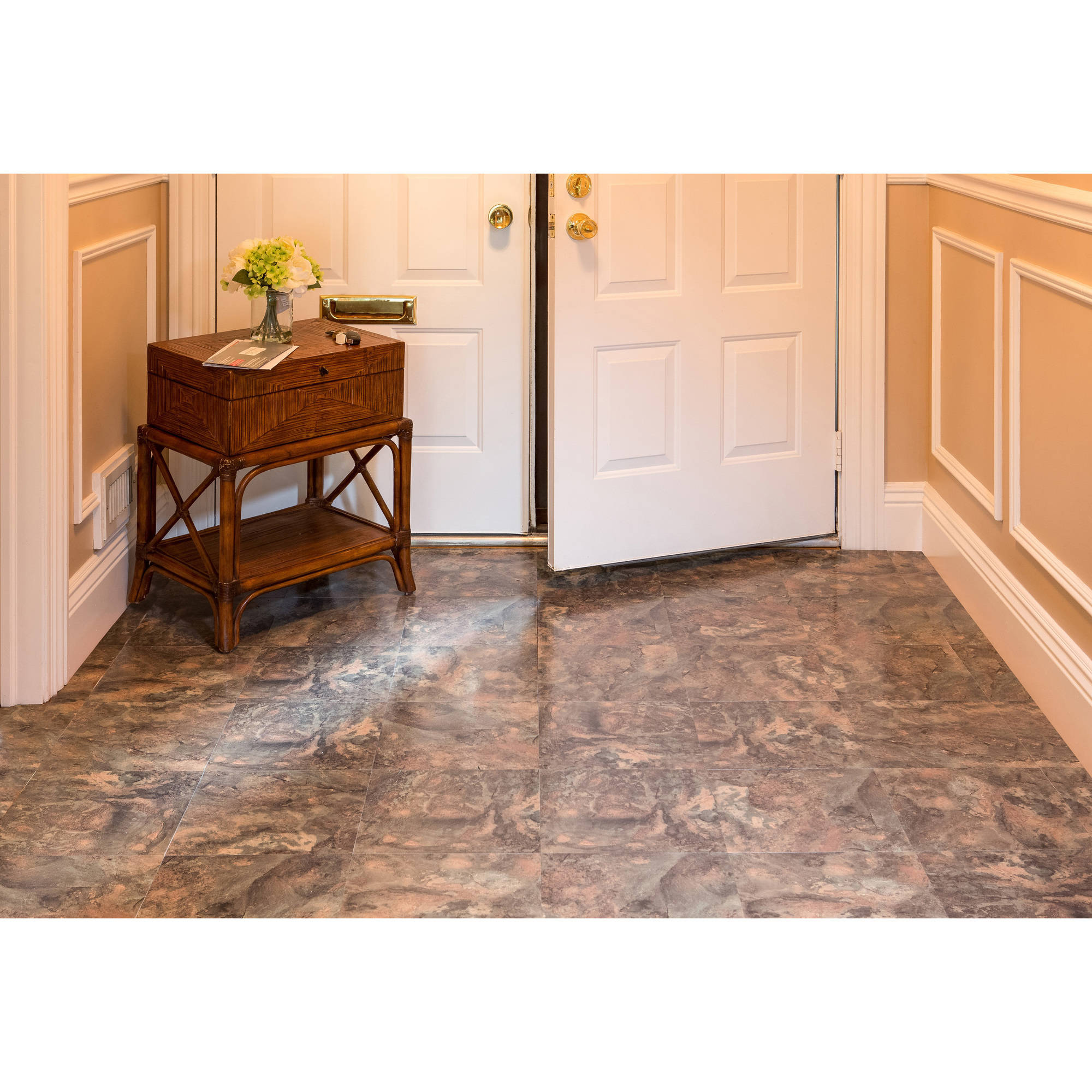 Nexus granite 12x12 self adhesive vinyl floor tile 20 tiles20 nexus granite 12x12 self adhesive vinyl floor tile 20 tiles20 sqft walmart dailygadgetfo Gallery